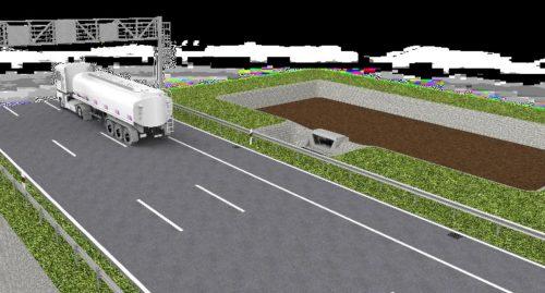 Kuva 5: ENREGIS / Vivo® TRP yhdistettynä biosuodatusalueeseen.