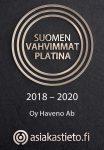 Suomen Vahvimmat 2020 Oy Haveno Ab